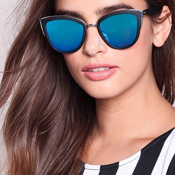 acb5e030a899e Quay Australia My Girl Black Mirror Sunglasses